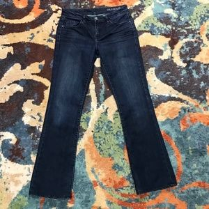 Blank NYC dark blue boot cut jeans size 28